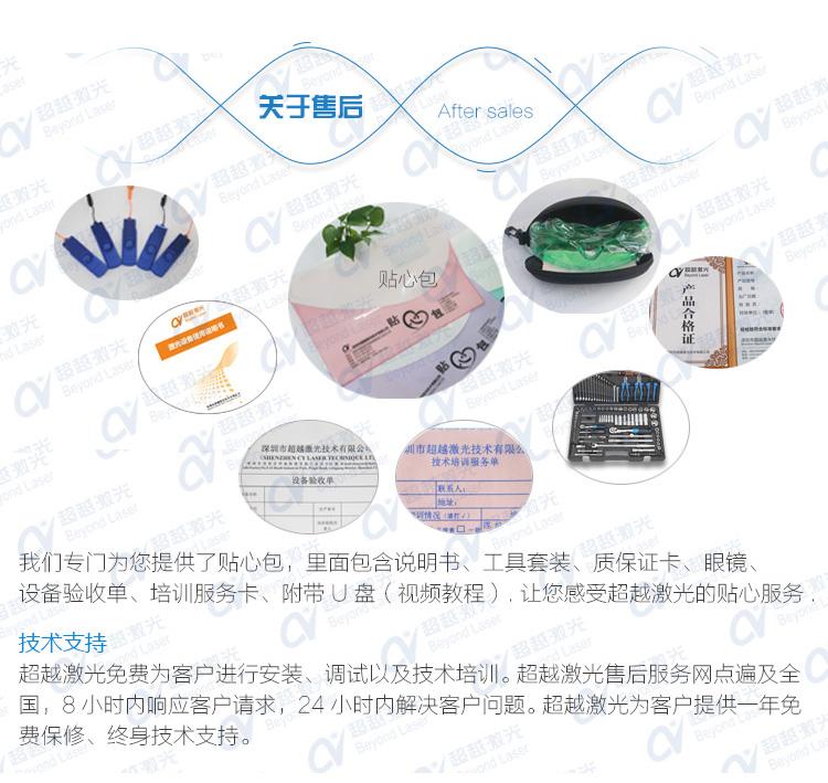 1000W直線電機激光切割機維護及售后包裝